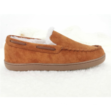Manufacturer Price Hot Selling Men Suede Shoes Warm Comfort Anti Slip Light Weight Faux Suede Slippers