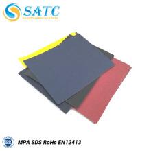papel de lixamento abrasivo do carboneto de silicone / papel de lixamento preto
