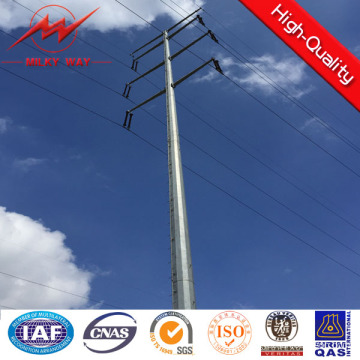 12m 800dan 3mm Thickness Electric Steel Power Pole