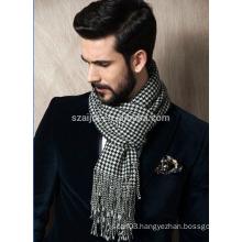 Mens plaid custom shawl