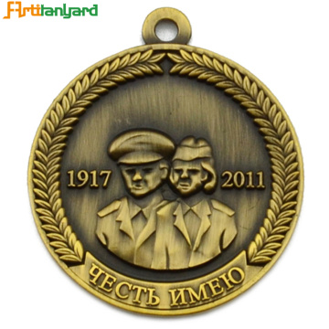 Latest Design Metal Medal with Gold Plating