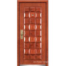 Steel Wooden Armored Door (YF-G9022)