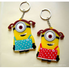 Promotional Products Customize Silicone Keyrings From Supplier