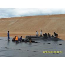 HDPE Teich Liner / LDPE EVA UV Widerstand Geomembran Kohlebergwerk Mülldeponie zum Verkauf