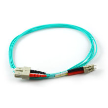 Om3 Om4 10gig Multimode Duplex Indoor Fiber Optic Patch Cord