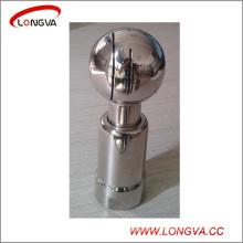 Boule de nettoyage rotative sanitaire de réservoir d'acier inoxydable