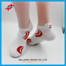 men's summer ankle white polyester sproty Socks