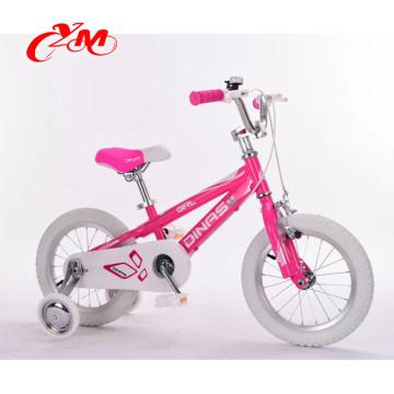 China best sell crianças bicicleta / quatro rodas EN 71 bicicleta frente crianças / venda quente barato por atacado bicicleta crianças 3 anos bicicleta criança