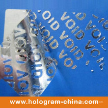 Tamper Evident Security Void Embossing Materials Aluminum Foil