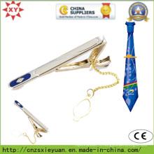 Позолоченный металлический зажим для галстука для подарков