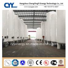 20m3 Niederdruck industrieller kryogener flüssiger Sauerstoff Stickstoff Argon CO2 Wasserspeichertank