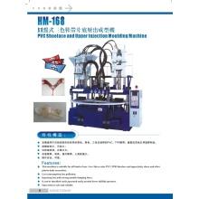 Máquina de inyección de correa de PVC de 4 estaciones para flip-flop