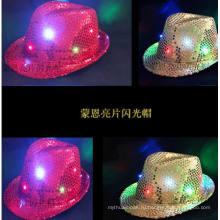 Пользовательские LED подсветка головные уборы, светодиодные бейсболка