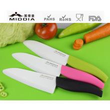 Нож кухонный шеф, керамический столовые приборы