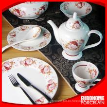 caliente productos nuevos para 2015 juegos de té de porcelana inglesa