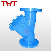 Gusseisen / Kohlenstoffstahl / Edelstahl Industrie Y-Typ Sieb / Filter