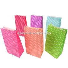 Sacola de embalagem reciclável saco de palha de papel