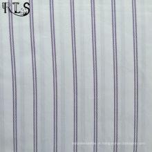Poplin de algodão tecida de fios tingidos tecidos para vestuário camisas/vestido Rls50-1po