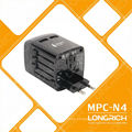 International converter plug 110-240V Travel adapter with charger for phone accessories mobile phone