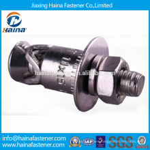 China Supplier In stock Stainless steel concrete Back Bolts