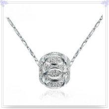 Jóias de prata jóias de prata 925 jóias de prata esterlina (NC0021)