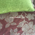 Fabrik Curtain Fabric Red Jacquard Khas