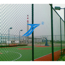 Malha do diamante / cerca do enlace de Fencechain do atletismo / PVC revestido