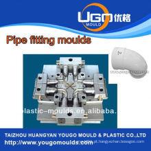 Fábrica de moldes de teste TUV / tamanho padrão Molde de montagem de tubo de cotovelo de 90 graus em taizhou China