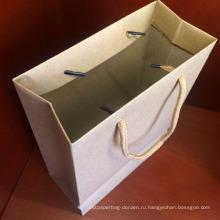 Подгонянный Размер крафт-бумага мешок подарок бумага мешок для покупки