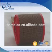 Correia transportadora de malha de Teflon resistente ao calor