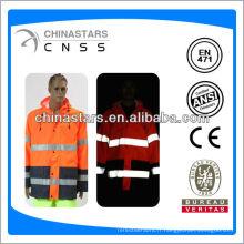 EN471 / ANSI bon marché, bonjour, 300D, imperméables à oxford avec des bandes réfléchissantes