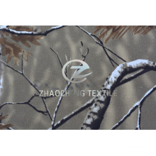 100% Twill Cotton Forest Camouflage Printing for Vest Use (ZCBP252)