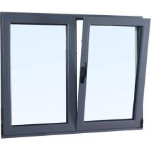 Fenêtre battante en aluminium ouverture inclinaison et virage