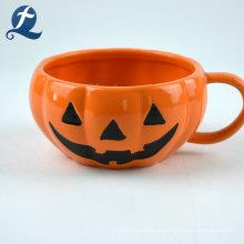 Halloween-Themen-Kürbis-Keramikgeschirr-Set