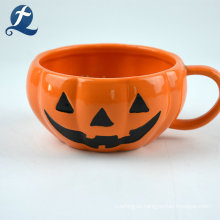 Tema de Halloween Abóbora Conjunto de talheres de cerâmica