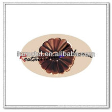 V144 PC Plastic Flower Shape Chocolate Mold