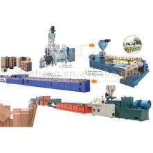 Wood Plastic Machine Composite Production Line