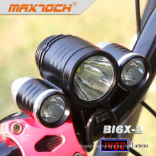 Cree Maxtoch BI6X-2 1400 Lumen luz de bicicleta