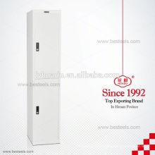 China Top Brand mini metal 2 door clothing steel locker/wardrobe