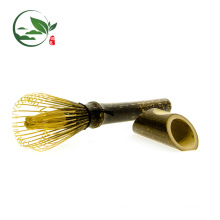 Japan Ceremony Tea Whisk Green Tea Powder Long Handle Bamboo Whisk Set