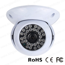 720p Ahd cámara de vigilancia de plástico IR de la bóveda