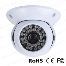 720p Ahd Plastic Surveillance IR Dome Camera