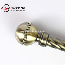 Wall mounted bracket building construction curtain rod from Foshan