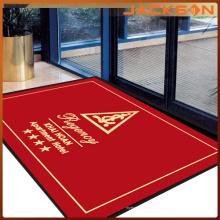 Alfombra de piso impresa buena calidad de encargo del logotipo