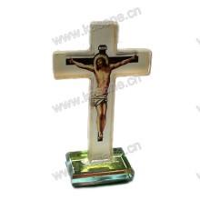 Schöne Kristallkreuz Religiöse Dekorationen