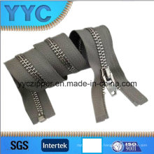 Y Dientes Gold Slider Metal Zipper para la ropa