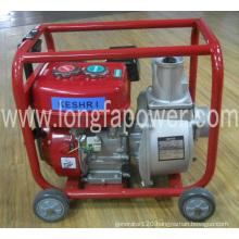2 Inch Kerosene Water Pump with Handles&Wheels
