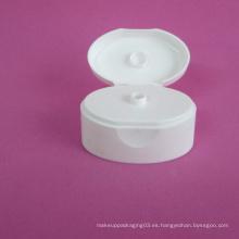 Tapa superior ovalada de 30 mm sin tubo cosmético