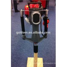 52mm Benzin Gas angetriebene elektrische Macht Handheld Star Picket Piling Fahrmaschine Benzin Zaun Post Driver Hammer