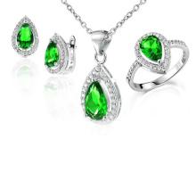Joyería de plata de la joyería de 925 anillos y joyería de los colgantes